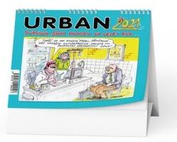 Stolní obrázkový kalendář - Urban 2021-Pivrncova dávka humoru na celej rok…,týdenní
