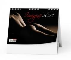 Stolní obrázkový kalendář - Imagine, týdenní