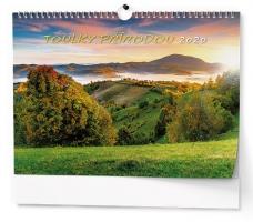 Nástěnný obrázkový kalendář BNG1 - Toulky přírodou, A3, měsíční