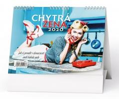Stolní obrázkový kalendář BSE3 - Chytrá žena, týdenní
