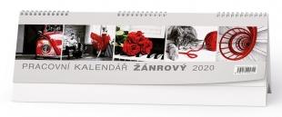 Stolní pracovní kalendář BSB4 - Žánrový, týdenní