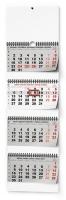 Nástěnný pracovní kalendář BNC6 - skládaný, čtyřměsíční