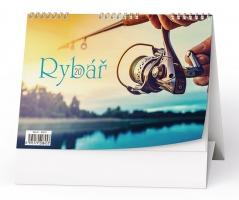 Stolní obrázkový kalendář BSC6 - Rybář, týdenní
