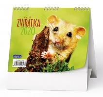 Stolní obrázkový kalendář BSJ6 - Zvířata, týdenní