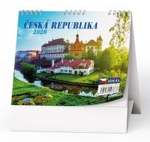 Stolní obrázkový kalendář BSL2 - Česká republika, týdenní