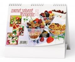Stolní obrázkový kalendář BSD5 - Zdravé snídaně a smoothie, týdenní