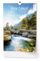 Nástěnný obrázkový kalendář BNK6 - Řeka čaruje, A3, měsíční