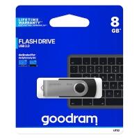 USB Flash disk Goodram UTS2 8 GB - 2.0, kovový, černý
