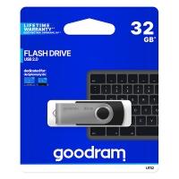 USB Flash disk Goodram UTS2 32 GB - 2.0, kovový, černý