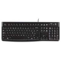 Drátová klávesnice Logitech K120 - černá