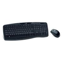 Bezdrátová sada Genius KB-8000X - klávesnice + myš, multimediální, černá