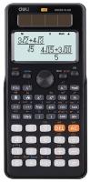 Školní kalkulačka Deli ED82ES - 2 řádky, 12 znaků, černá