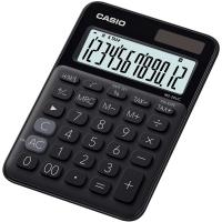 Stolní kalkulačka Casio MS 20UC BK - 1 řádek, 12 znaků, černá