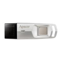 USB Flash disk Apacer AH651 32 GB - 3.1, s otiskem prstu, stříbrný
