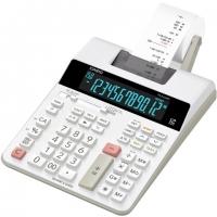 Stolní kalkulačka s tiskem Casio FR 2650 RC - 1 řádek, 12 znaků, bílá