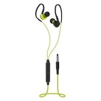 Špuntová sluchátka Defender OutFit W770 - s mikrofonem, jack 3,5 mm, černo-žluté
