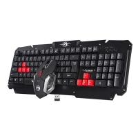 Herní bezdrátová sada Marvo KW509 - klávesnice + myš, černá