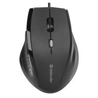 Drátová myš Defender Accura MM-362 - optická, 6 tlačítek, kolečko, černá