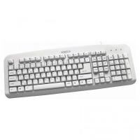 Drátová klávesnice Logo Standard - bílá
