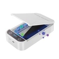 "UV sterilizátor Powerton - pro mobilní telefony a šperky, 6,5"", 10 W, bílý"
