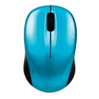 Bezdrátová myš Verbatim Go Nano 49044 - optická, 3 tlačítka, kolečko, modrá
