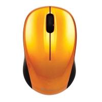 Bezdrátová myš Verbatim Go Nano 49045 - optická, 3 tlačítka, kolečko, oranžová