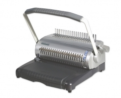 Kroužkový vazač COMB S-100 - plastová vazba, děrovací kapacita 22 listů