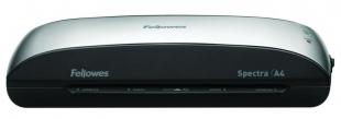 Laminátor Fellowes Spectra - A4, šíře 230 mm, max 125 my, černo-stříbrný