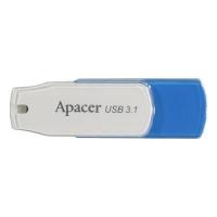 USB Flash disk Apacer AH357 16 GB - 3.1, plastový, bílo-modrý