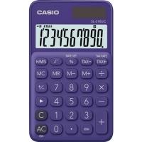 Stolní kalkulačka Casio SL 310UC PL - 1 řádek, 10 znaků, fialová