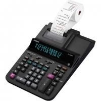 Stolní kalkulačka s tiskem Casio FR 620 RE - 1 řádek, 12 znaků, černá