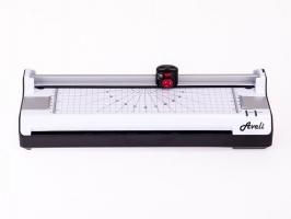 Laminátor s kotoučovou řezačkou Aveli Combi - A3, šíře 303 mm, max 250 my, černý