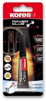 Vteřinové lepidlo Kores Power Glue - 3 g