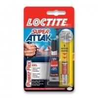 Gelové vteřinové lepidlo Loctite Super Attak Power Flex Gel - 3 g