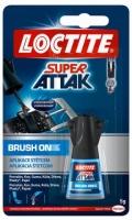 Vteřinové lepidlo Loctite Super Attak Brush On - 5 g