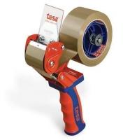Ruční odvíječ balící pásky Tesa Comfort 6400 - pro rozměr 50 mm x 60 m, červeno-modrý