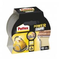 Lepící páska Pattex Power Tape - 50 mm x 10 m, třívrstvá, stříbrná