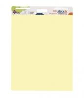 Samolepící flipchart Stick n Hopax Meeting Pad - 762x635 mm, 30 listů, žlutý
