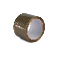 Lepící páska - akrylát, 75x66 m, havana, hnědá