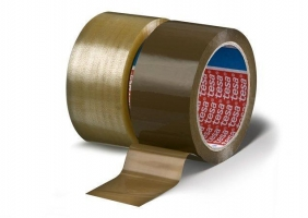 Lepící páska Tesa 4280 - hot-melt, 48x66 m, hnědá