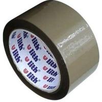 Lepící páska Ulith - akrylát, 48x66 m, hnědá