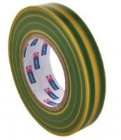 Izolační páska - PVC, 15x10 m, zelenožlutá