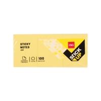 Samolepící bloček Deli Stick Up EA00153 - 38x51 mm, 3x100 listů, žlutý