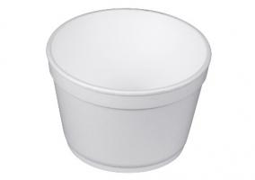 Kulatá termo miska na polévku 460 ml - EPS, bílá, 25 ks