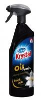 Olejový osvěžovač vzduchu Krystal - s rozprašovačem, black jack, 750 ml