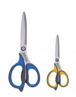 Kancelářské nůžky Deli Ergo E77760 - 21 cm, gumová rukojeť, mix barev