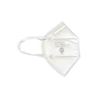 Respirátor FFP2 CZ - skládaný bez ventilku, 20 ks (hygienicky baleno po 1 ks) - ČESKÁ VÝROBA