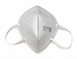 Respirátor FFP2 - skládaný bez ventilku, 25 ks