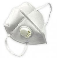 Respirátor FFP3 - skládaný s ventilkem, 5 ks