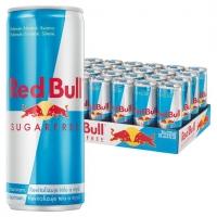 Energetický nápoj Red Bull - bez cukru, 250 ml, 24 ks